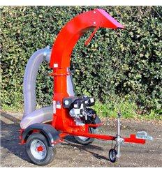 SCH PSU Professional Leaf Suction Unit, 9hp Honda Petrol Engine