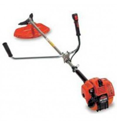 TANAKA TBC 340 D Brushcutter, 33cc Engine, Straight Shaft 26, Double Handle, Manual Head + Blade, Double D3 Harness