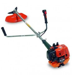 TANAKA TBC 4200 DX Brushcutter, 40cc Engine, Straight Shaft 28, Double Handle, Manual Head + Blade, Double D3X Harness