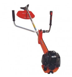 TANAKA TBC 4200 DLV Brushcutter, 40cc, Low Vibration, Straight Shaft 30, Double Handle, Manual Head + Blade, Double D4 Harness