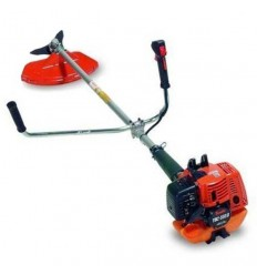 TANAKA TBC 550 DX Brushcutter, 47cc Engine, Straight Shaft 28, Double Handle, Manual Head + Blade, Double D3X Harness