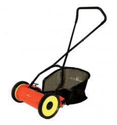WOLF-Garten WPCM Hand-Propelled Side Wheel Cylinder Head Lawnmower, 32cm/13""