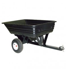 AGRI-FAB 45-0348-100 CUB CADET Tow Poly Tipping Trailer, Load Capacity 227kg/500lbs