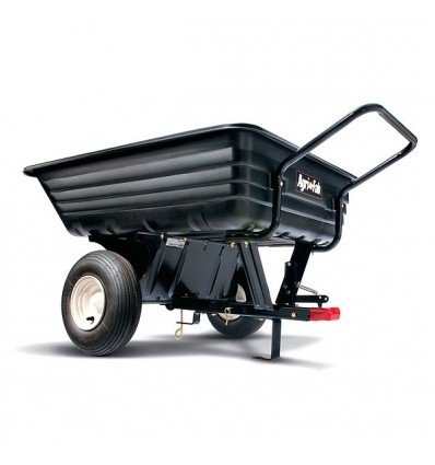 AGRI-FAB 45-0345 Convertible Push/Tow Poly Dump Trailer, Capacity 350lbs/160kg