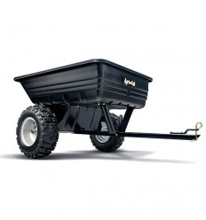 AGRI-FAB 45-0175 Poly ATV Tipping Trailer, Capacity 295kg / 650lb / 10 cu ft