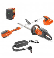Husqvarna 115iL Grass Trimmer & 115iHD45 Hedge Trimmer Cordless Kit OFFER