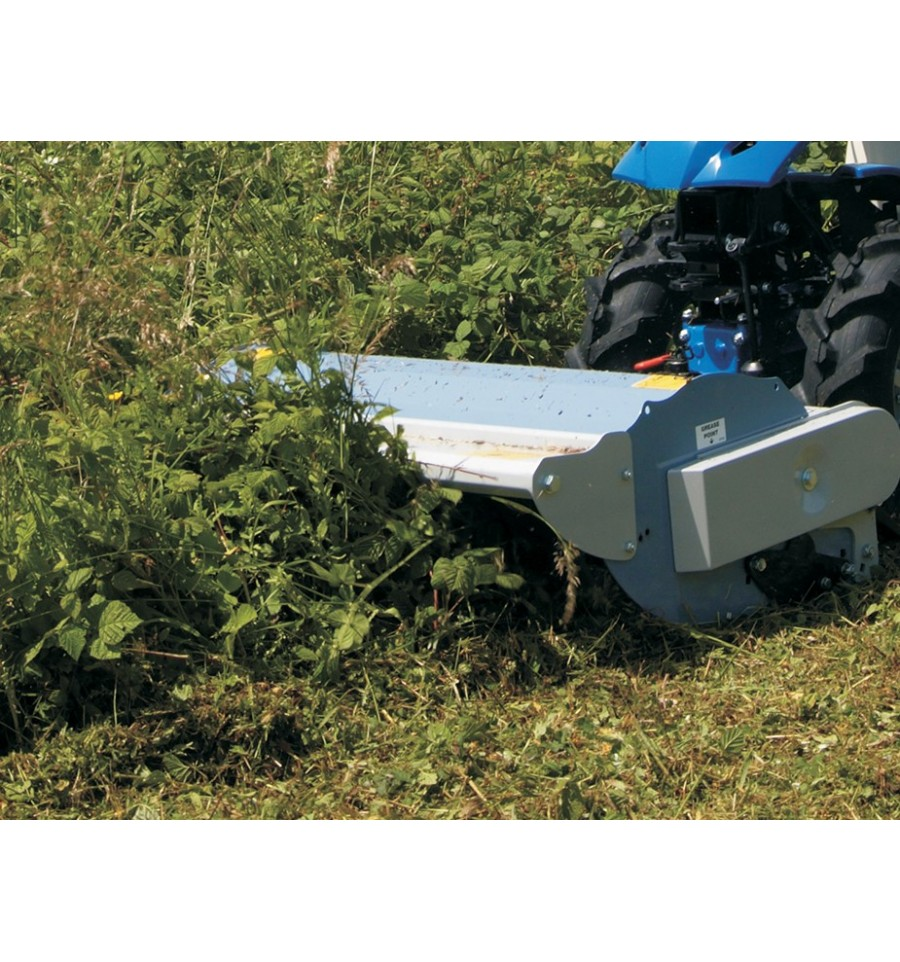 BCS Flail Mower Cutting