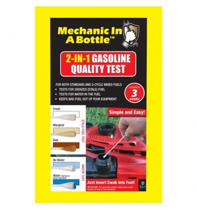 B3C Mechanic In A Bottle 2-In-1 Petrol Quality Test 3 pack