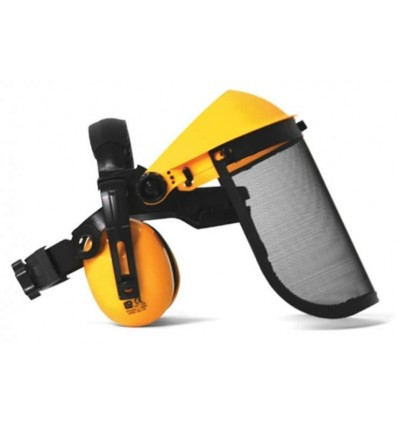 Mitox Face Shield and Ear Defenders