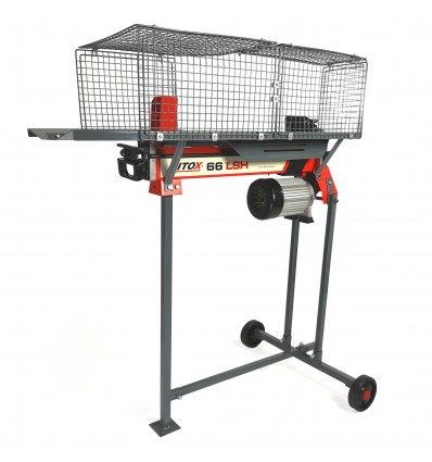 Mitox 66 LSH Electric Log Splitter with Stand
