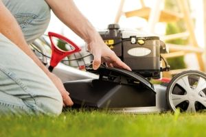 Side Discharge for Longer Grass