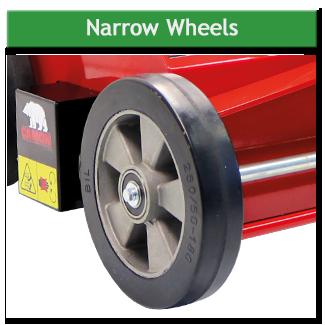 Narrow Wheels