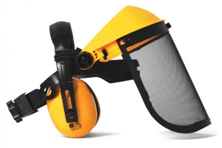 Face Shield/Ear Defenders