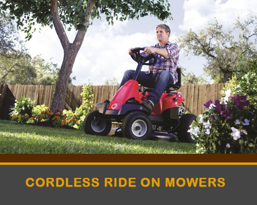 Cordless Ride-On Mowers
