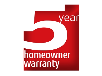 5 Year Domestic Warranty
